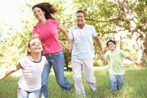 Outdoor-Fitness für die ganze Familie!