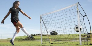 Der Gewinn: Das SKLZ Quickster Fußballtor