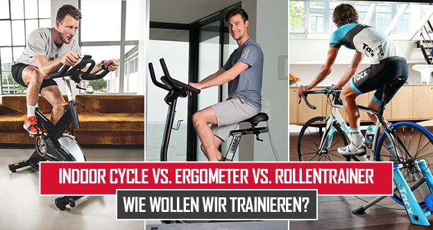 Indoor Cycle vs. Ergometer vs. Rollentrainer