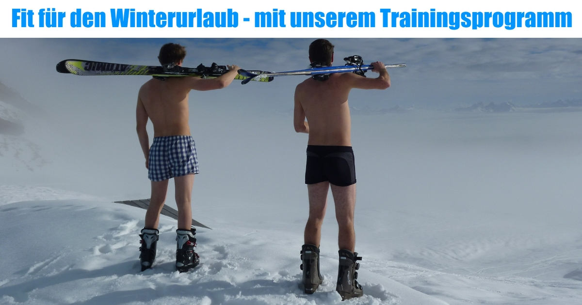 Fit in den Winterurlaub