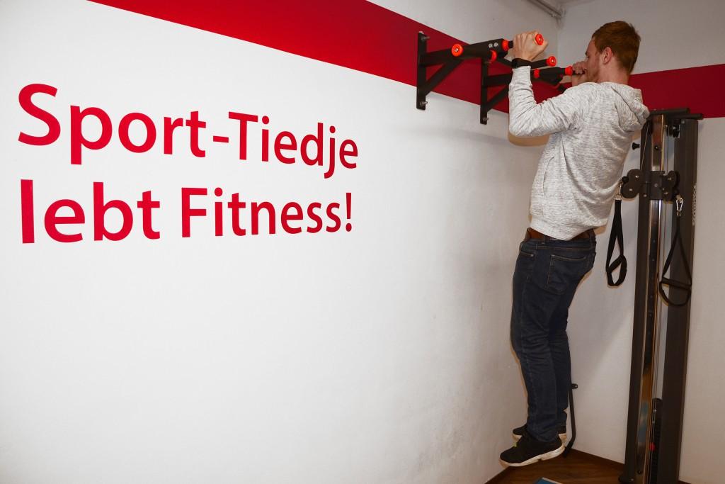 Bewegetes Büro - die Sport-Tiedje Fitness Ecke