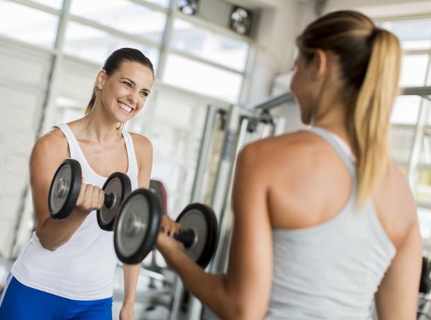 Fehler beim Armtraining: zu lasch trainieren