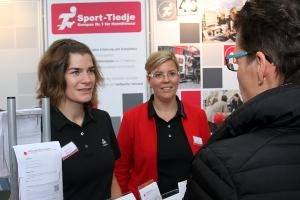 Sport-Tiedje auf der Jobmesse in Kiel