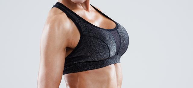 Das natürliche Produkt nach der Erhöhung der Brust