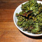 Grünkohl Chips – leichtes und leckeres Fitness Rezept