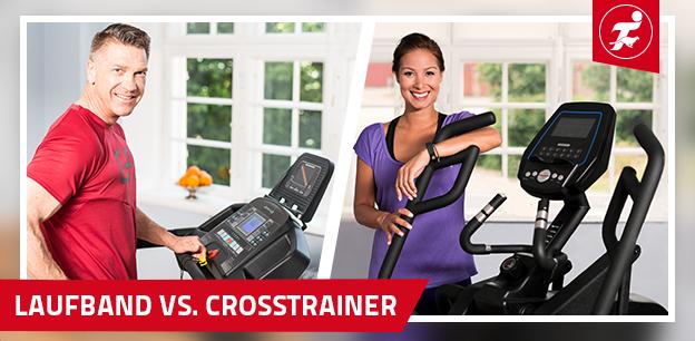 Laufband oder Crosstrainer - Vor- und Nachteile