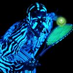 Blackminton – die fluoreszierende Funsportart