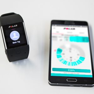 Die M600 ist Sportwatch, Activity Tracker und Smartwatch in einem