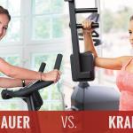 Ausdauer- oder Kraftsport – was hält länger jung?