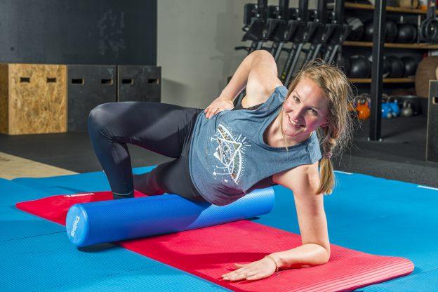 Faszientraining gegen Muskelkater