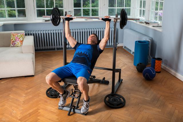 Wiederholungen Muskelaufbau