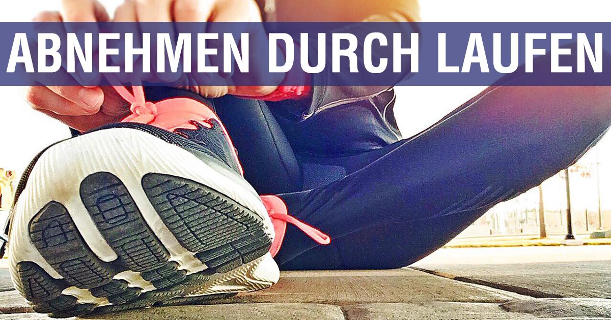 Laufen macht Gewicht verlieren