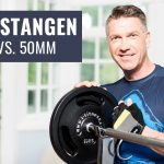 30mm vs. 50mm Hantelstangen und Hantelscheiben