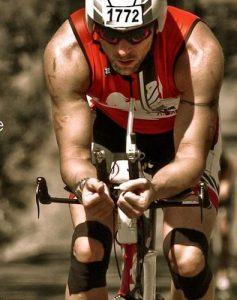 Radfahrer mit PhysioTape