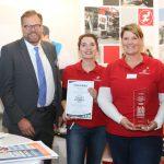 Bester Messestand: Sport-Tiedje auf der 10. Kieler Jobmesse