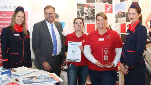 Sport-Tiedje auf der Jobmesse Kiel
