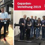 ISPO Munich 2019 | Sport-Tiedje verleiht Geparden